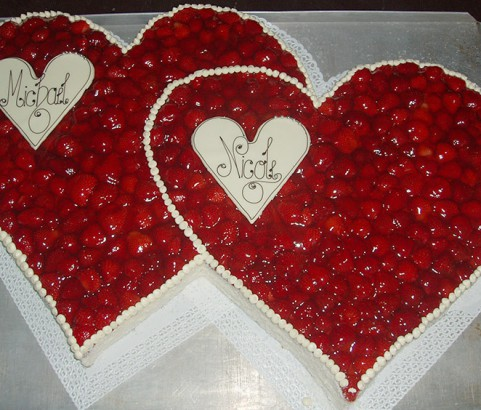 Erdbeertorte Bäckerei Burgauner