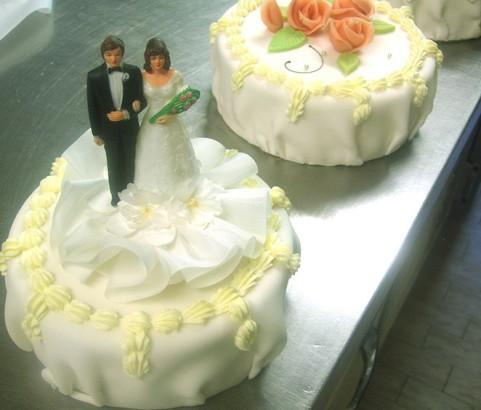 Hochzeitstorte Bäckerei Burgauner