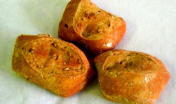 Kürbiskern-Brötchen