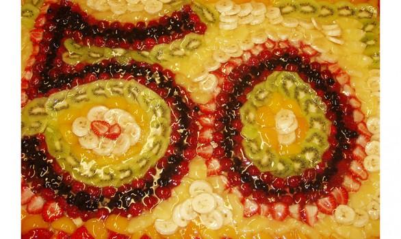 Obsttorte zum 50. Bäckerei Burgauner