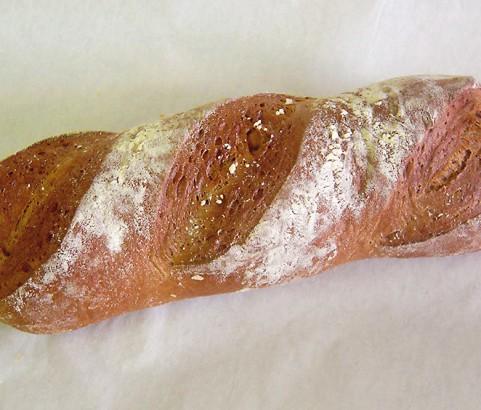 Roggenmischbrot lang Bäckerei Burgauner